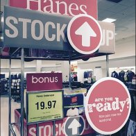 Bon-Ton Hanes Stock Up 3