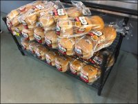 Low-Profile Bakery Rack Cross-Sell at the Deli