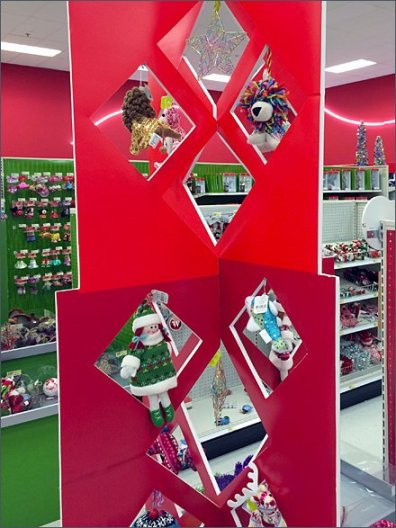Christmas Ornamenmt Die-Cut Display 2