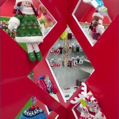 Christmas Ornamenmt Die-Cut Display 3