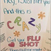 D.I.Y. Retail Flu Shot Promotion 2