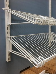 Declined Open Wire Wall Shelves 1
