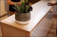 Custom Pegboard via Design Retail