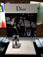Dior Branded Bas-Relief Display In Retail