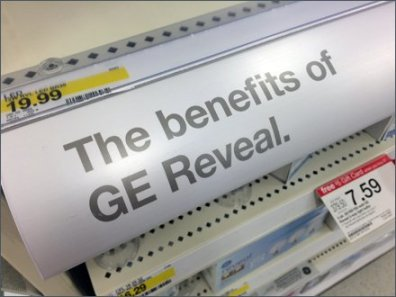 GE Reveal Benefits a la Burma Shave 2