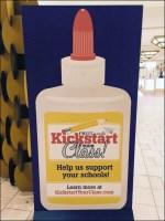 Glue Bottle Kick-Start Back-to-School Retail Signage