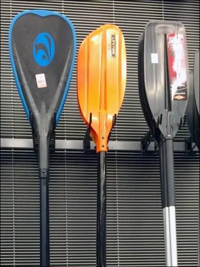 Kayak Paddle Undulating Utility Hook