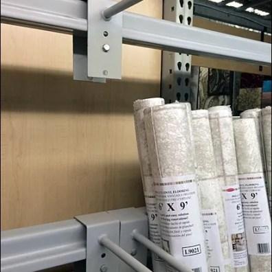 Linoleum Roll Dividers For Pallet Rack 2