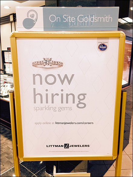 Littmans Now Hiring Sparkling Gems