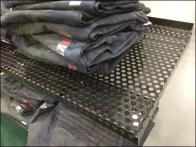 Perforated Wrap-Around Shelf-Edge