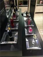 Victoria's Secret Tester Lineup on Plinths