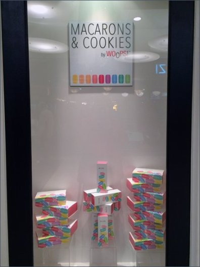 Whoops Macaron & Cookie Window Dressing 2