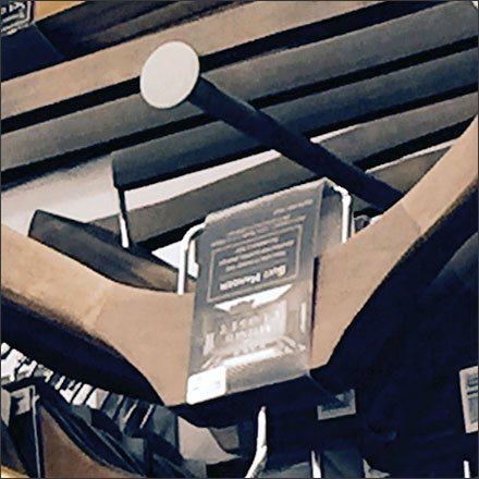Clothes Hanger Disk Finial Slatwall Hooks X-CloseUp