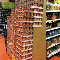 D.I.Y. Leaning Tower of Tomatoes 1