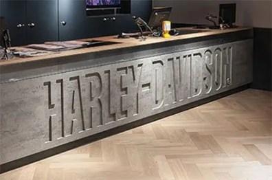 D-R Harley-Davidson Branded Service Counter 2