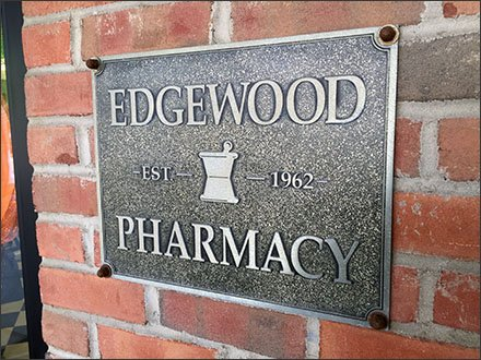 Edgewood Pharmacy Retail Fixtures - Pharmacy's Prescription for Pumpkins
