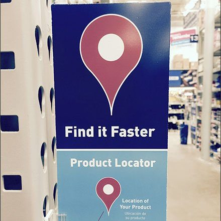 Find It Faster In-Store Navigation