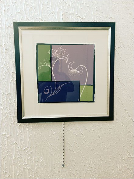 Framed Art on Retail Upright