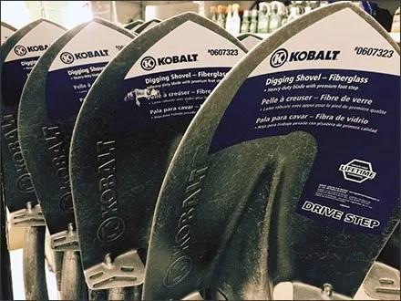 Kobalt Branded Shovels 1