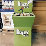 Krazy Glue® Branded In-Store Dimensional Display