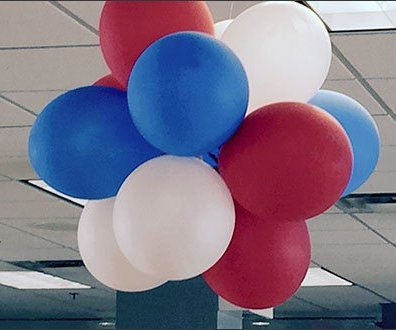 Mercedes Dealership Balloon Decor 3
