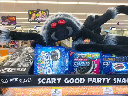 Oreo® Scary Halloween Shelf-Edge Party Spider