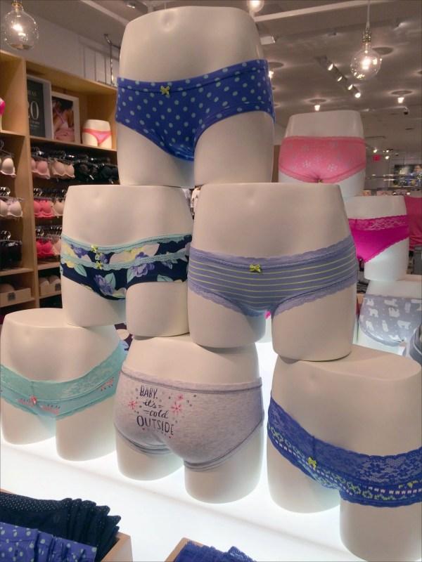 Panty Pyramid Merchandising Promotion