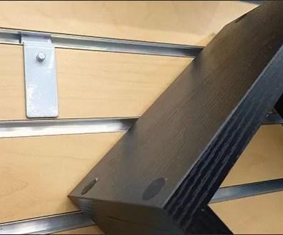 Real Simple Shadowbox Slatwall Pin-Up Hook 3