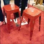 Red Lab Stools For Back-To-School Selfies