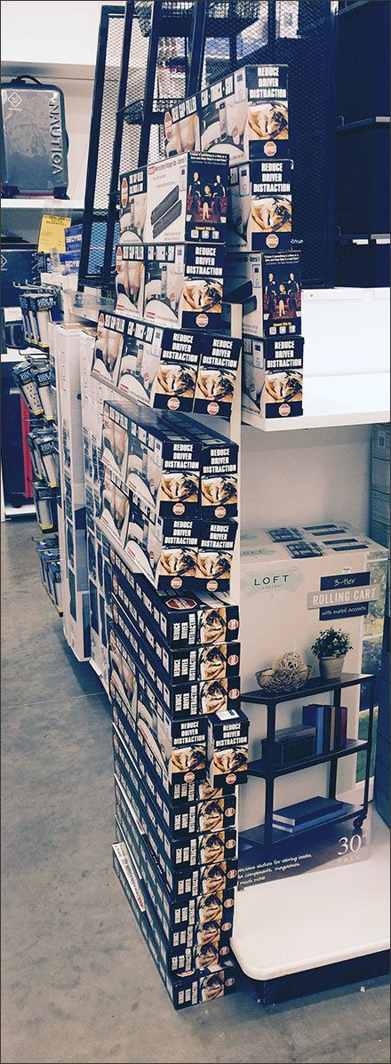 Stacking Stock 18 Packages Tall in Automotive