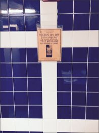 Text from Restroom Merits a Discount 1