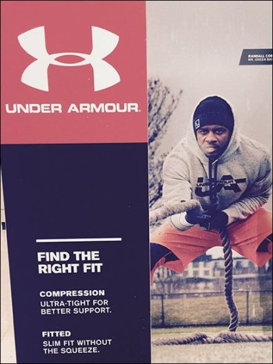 Under Armour Color Coordinated Merchandising 3