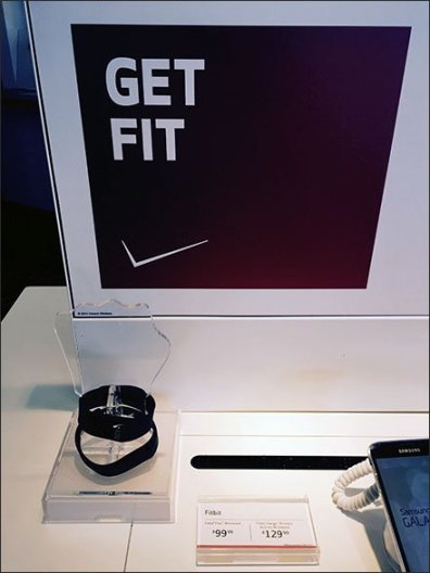 Verizon® Fitbit® Acrylic Fist Lends a Hand