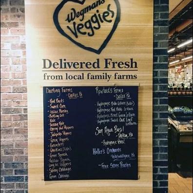 Wegmans Veggies Delivered Farm Fresh