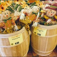 Yard Scarecrow Barrel Sale 2