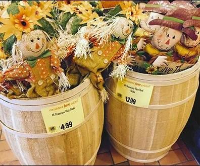 Yard Scarecrow Barrel Sale 2