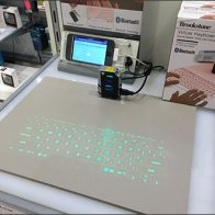 Brookstone® Virtual Keyboard Display