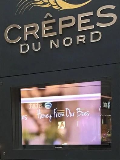 Crepe Du Nord Televised Chalkboard 3