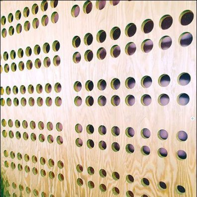Chipotle Custom Pegboard or Plug-In Pattern
