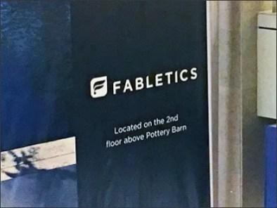 Fabletics Mall Banner 3