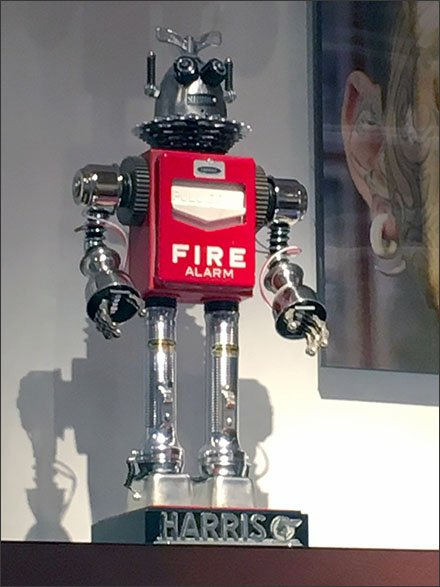 Fire Fighting Retail Robot by Harris