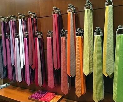 Hermes Necktie Color Array 2