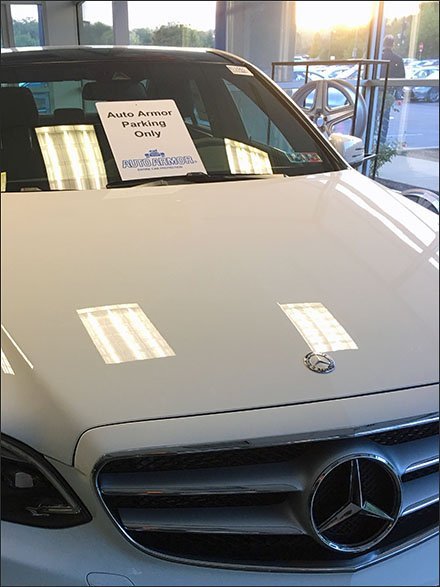 Mercedes Auto Armor Parking as Promotion