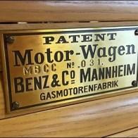 Mercedes® Vintage Motor Wagon Staging