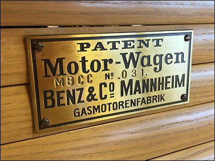 Mercedes® Vintage Motor Wagon Staging