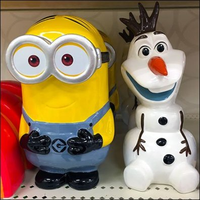 Minion Cross Sell in Kidswears CloseUp