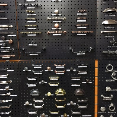 Outwater Plastics Knobs and Pulls Pegboard