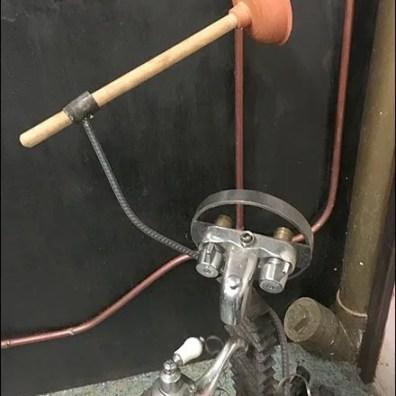 Restroom Toilet Plunger Art 3