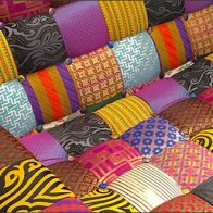 Robert Graham In-Store Patchwork Seating