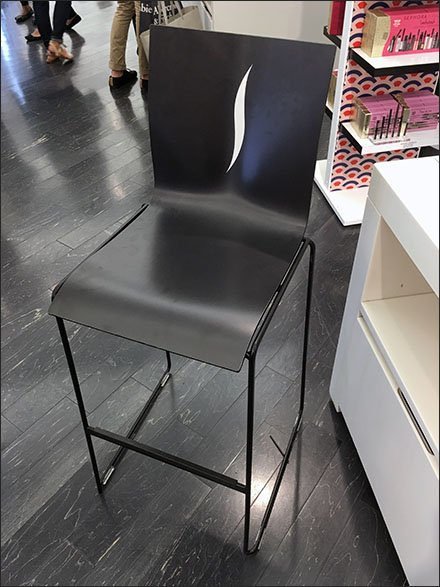 Sephora Branded In-Store Seating